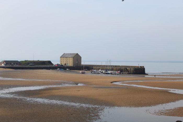 image of Elie harbour